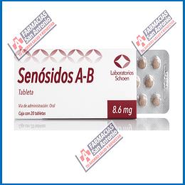 Senosidos A-B 8.6mg 20tabs