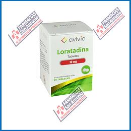 Loratadina 10mg (20 tabletas )  Promoción