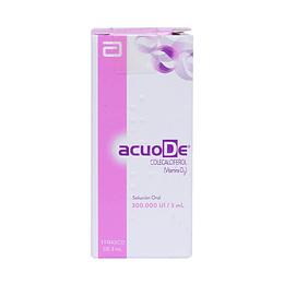 AcuoDe 300.000 UI / 3 ml Solución oral, Vitamina D3
