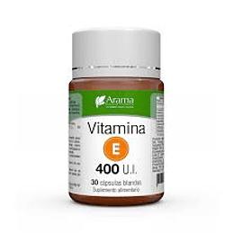 Vitamina E 400 U.I.  Arama 30 cápsulas blandas