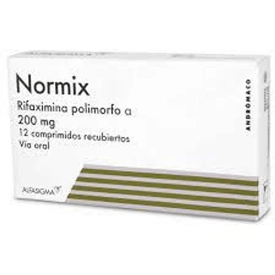 Normix 200 mg 12 comprimidos