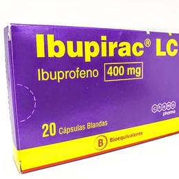 IBUPIRAC LC CAP 400 MG X 20 (BE)