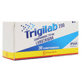 Trigilab 200 mg 30 comprimidos