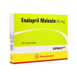 Enalapril Maleato 20 mg 10 comprimidos