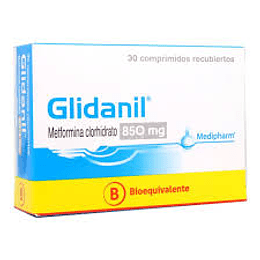 Glidanil 850 mg 30 comprimidos