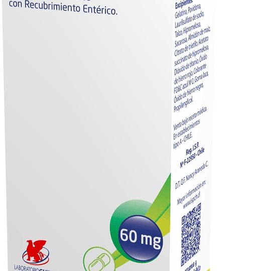 Binax 60 mg 30 cápsulas con gránulos con recubrimiento entérico