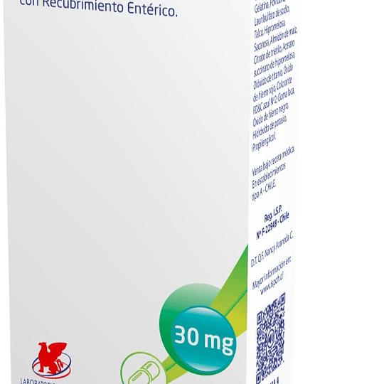 Binax 30 mg 28 cápsulas con gránulos con recubrimiento entérico