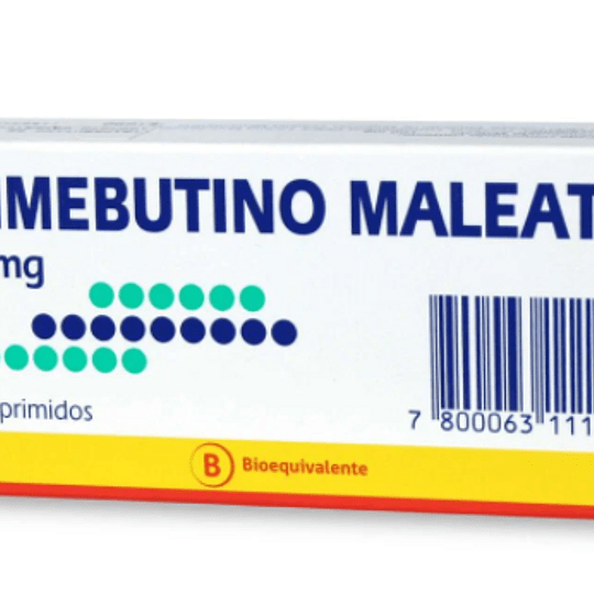 Trimebutina Maleato 100 mg 20 comprimidos