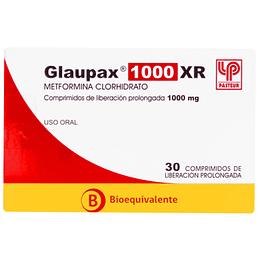 GLAUPAX XR COM 1000 MG X 30