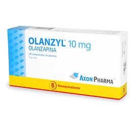Olanzyl 10mg por 28 comprimidos