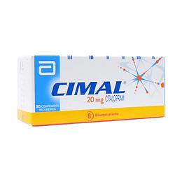 CIMAL COM 20 MG X 30