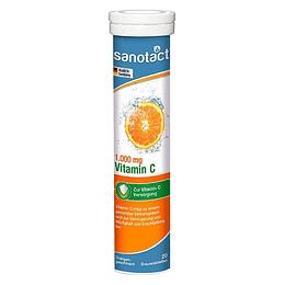 Vitamina C Tabletas Efervescente 1 G X 20 Sanotac