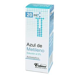 AZUL DE METILENO SOL 2% X 20 ML VALMA