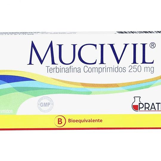 Mucivil 250 mg 30 comprimidos