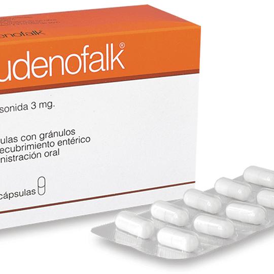Budenofalk 3mg por 100 capsulas