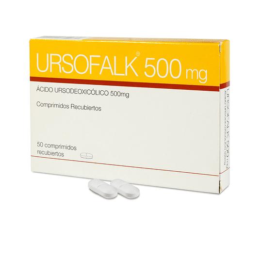 Ursofalk 500 mg por 50 comprimidos recubiertos