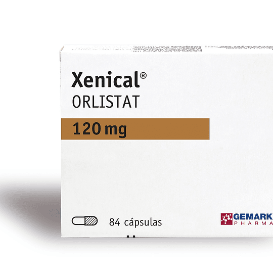 Xenical 120mg por 84 Capsulas