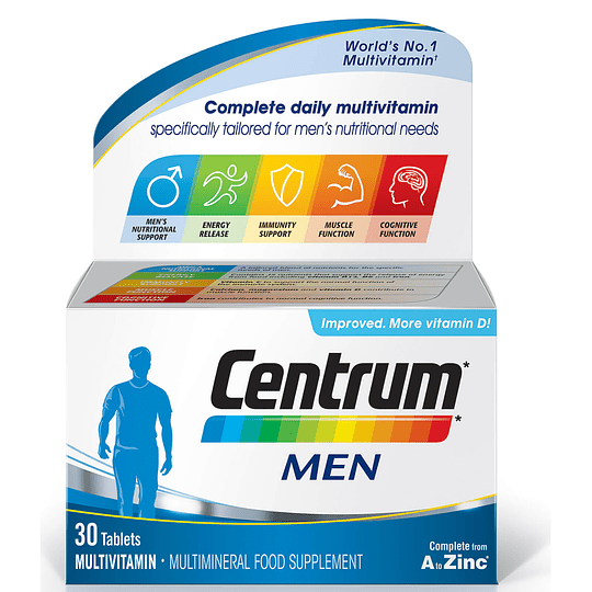 Centrum Hombre 30 comprimidos