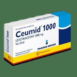 Ceumid 1000 mg 30 comprimidos