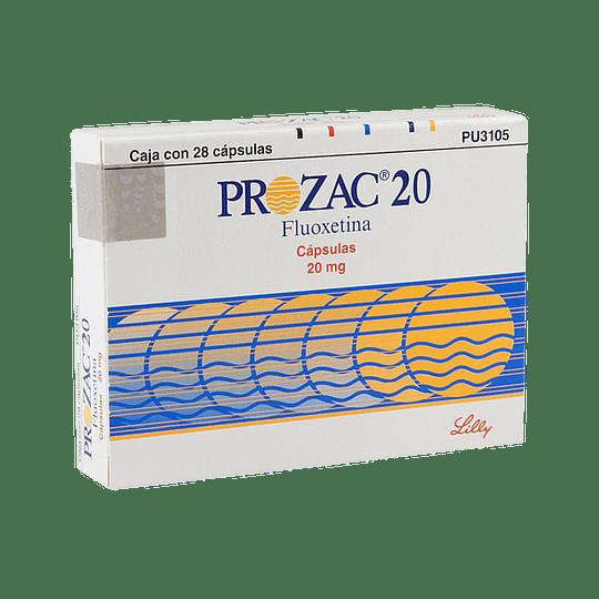 Prozac 20 mg 28 comprimidos