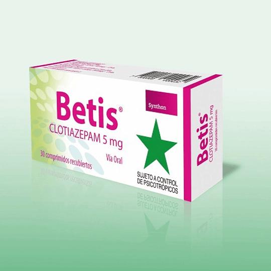 Betis 5 mg 30 comprimidos