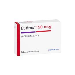 Eutirox 150 mcg 50 comprimidos