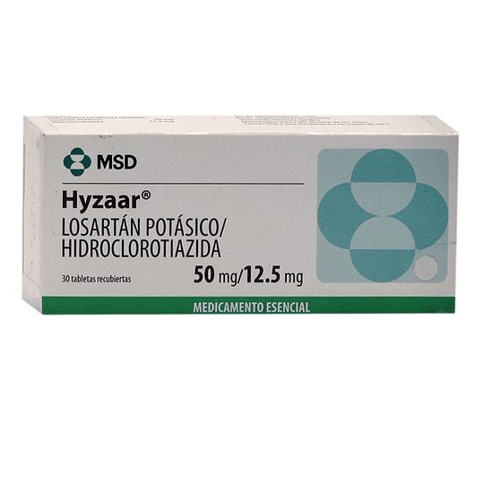 Hyzaar 50 / 12,5 mg 30 comprimidos