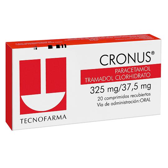 Cronus 325 mg / 37,5 mg 20 comprimidos