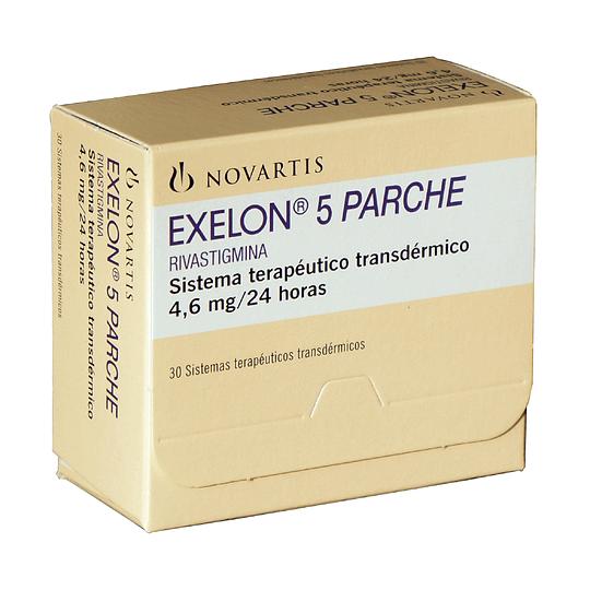 Exelon 5 Parche Transdérmico  4,6 mg/24 horas por 30 unidades