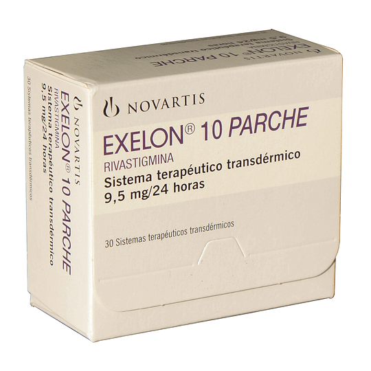 Exelon 10 Parche Transdérmico 9,5 mg/24 horas por 30 unidades