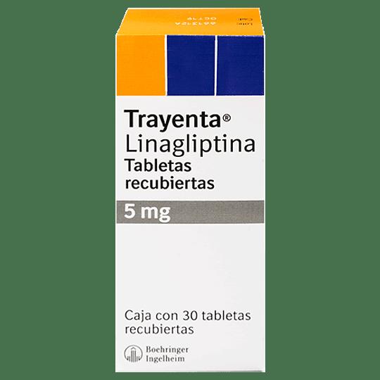 Trayenta 5 mg por 30 comprimidos