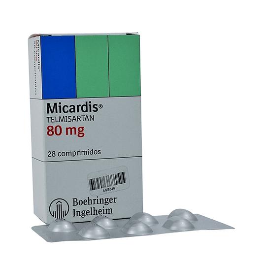 Micardis 80 mg  28 Comprimidos