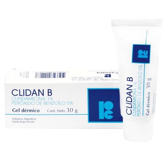Clidan B Gel dérmico 30 gramos