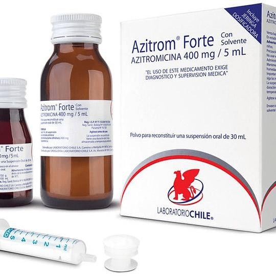 Azitrom Forte 400 mg / 5 ml suspensión 30 ml