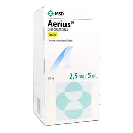 Aerius 2,5 mg / 5 ml Jarabe  100 ml