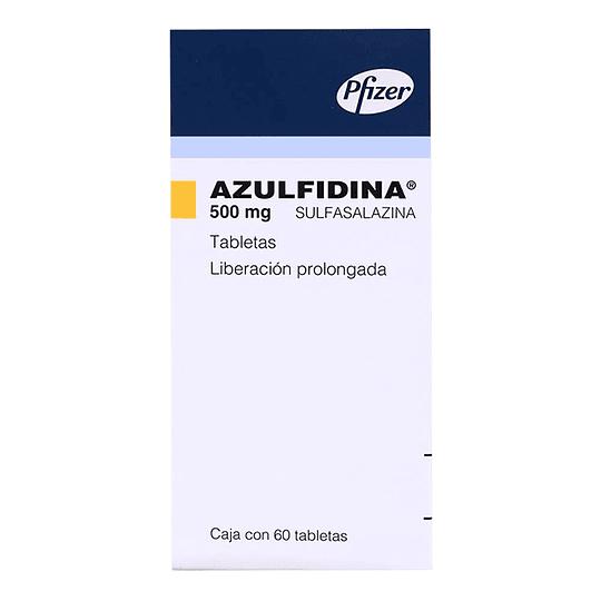 Azulfidine R-EN Tableta 500 Mg por 60