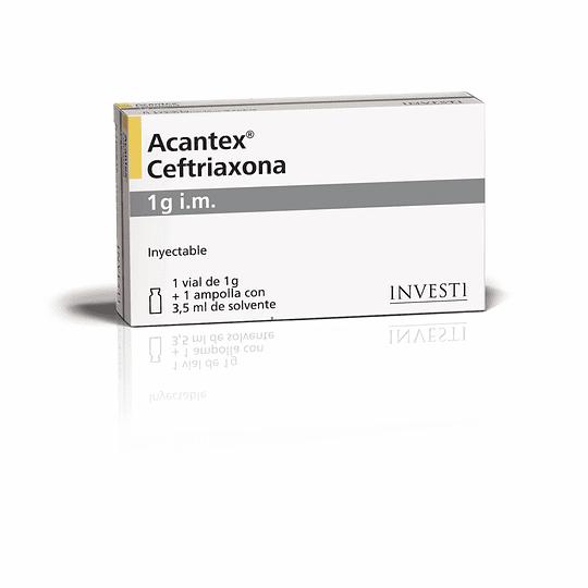 Acantex Ampolla IV por 1 gr