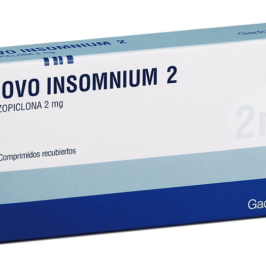 Novo Insomnium Tableta Recubierta 2 Mg por 30 unidades