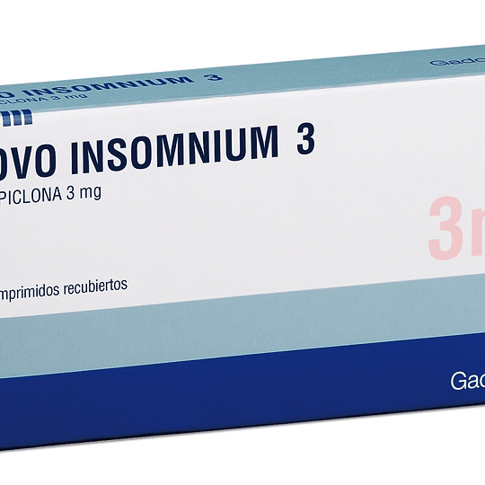 Novo Insomnium Tableta Recubierta 3 Mg por 30 unidades