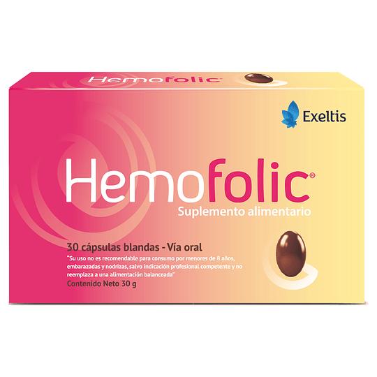 Hemofolic - Estuche de 30 Capsulas