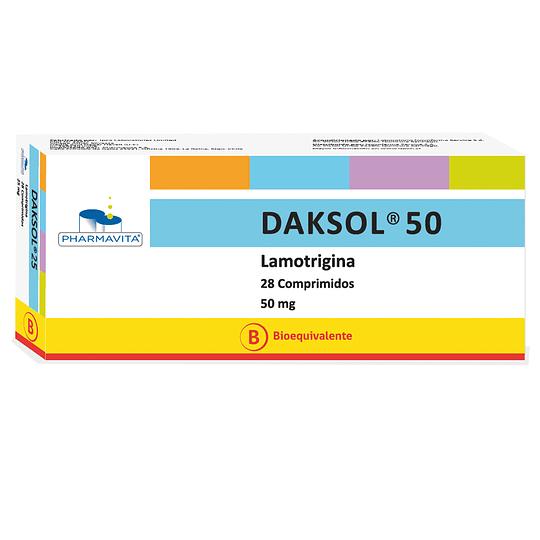 Daksol 50 mg 28 Comprimidos