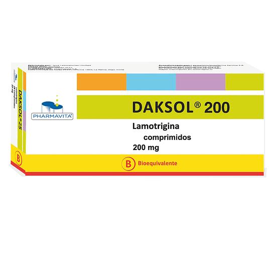 Daksol 200 mg 28 Comprimidos