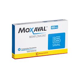 Moxaval 400 mg 10 comprimidos