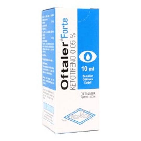 Oftaler Forte 0,05 % Solución oftálmica 10 ml