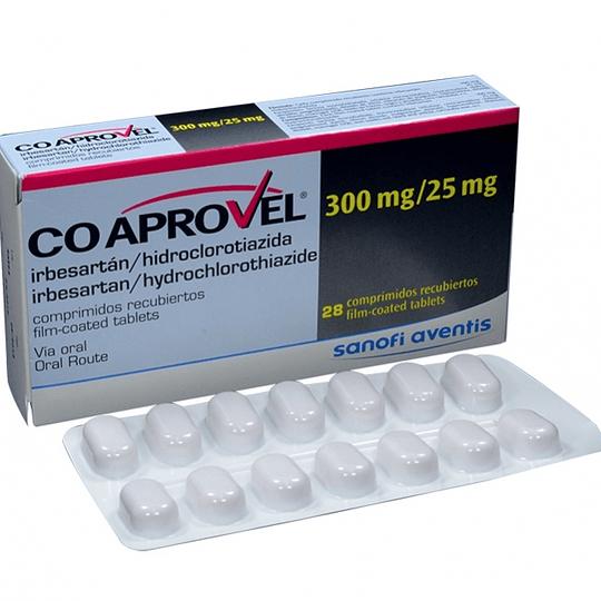 Coaprovel 300 / 25 mg, 28 comprimidos