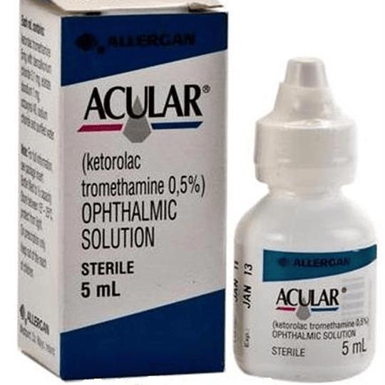 Acular 0.5 % solución oftálmica 5 ml