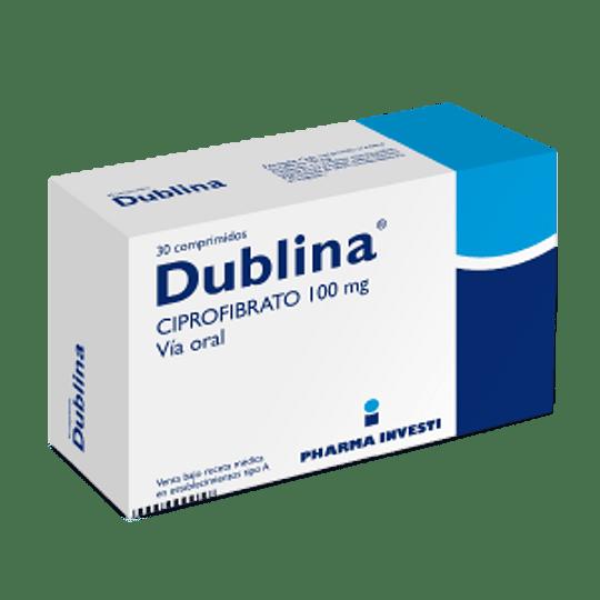 Dublina 100 mg 30 comprimidos