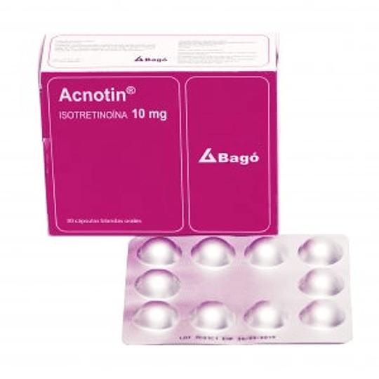 Acnotin 10 mg, 30 cápsulas blandas