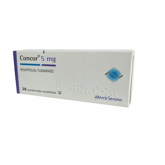 Concor 5 mg 28 comprimidos