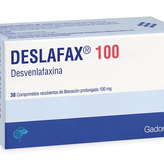 Deslafax 100 mg 30 comprimidos